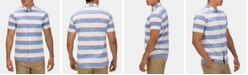 Hurley Men's Blocked Stripe Button-Down Shirt