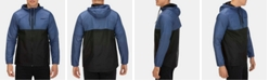 Hurley Men's Siege Water-Resistant Colorblocked Hooded Windbreaker