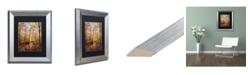 """Trademark Global Jason Shaffer 'Morgan Street 2' Matted Framed Art - 11"""" x 14"""""""