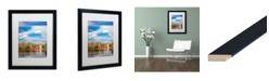 """Trademark Global Jason Shaffer 'Morgan Street 5' Matted Framed Art - 16"""" x 20"""""""