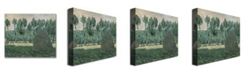 "Trademark Global Claude Monet 'Haystacks near Giverny, 1884-89' Canvas Art - 24"" x 24"""