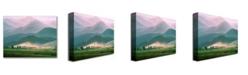 "Trademark Global Caspar Friedrich 'Landscape in the Riesengebirge' Canvas Art - 24"" x 18"""