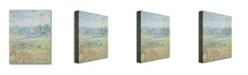 "Trademark Global Camille Pissarro 'Autumn Morning' Canvas Art - 24"" x 18"""