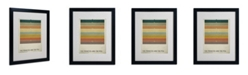 """Trademark Global Christian Jackson 'The Princess and the Pea' Matted Framed Art - 20"""" x 16"""""""