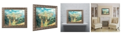 "Trademark Global Pierre Auguste Renoir 'Banks of the Seine at Argenteuil' Ornate Framed Art - 11"" x 14"""