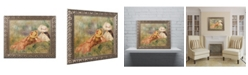 """Trademark Global Pierre Auguste Renoir 'Young Girls by the Water' Ornate Framed Art - 11"""" x 14"""""""