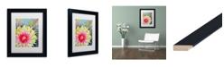 """Trademark Global Jennifer Redstreake 'Thistle' Matted Framed Art - 11"""" x 14"""""""