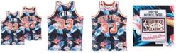 Mitchell & Ness Men's Patrick Ewing New York Knicks Floral Swingman Jersey