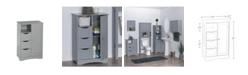 RiverRidge Home RiverRidge Ashland Collection 1 Door, 3 Drawer Floor Cabinet