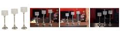 Vibhsa Hurricane Candle Holders Set of 3