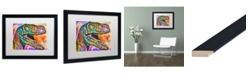 "Trademark Global Dean Russo 'Raptor' Matted Framed Art - 16"" x 20"""