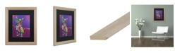 """Trademark Global Dean Russo 'Drummer' Matted Framed Art - 16"""" x 20"""""""