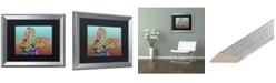 "Trademark Global Dean Russo 'Rigby Custom 3' Matted Framed Art - 16"" x 20"""