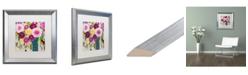 """Trademark Global Carrie Schmitt 'Sweet Nora' Matted Framed Art - 16"""" x 16"""""""