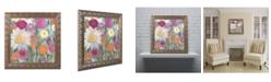 """Trademark Global Carrie Schmitt 'Earth at Daybreak' Ornate Framed Art - 16"""" x 16"""""""