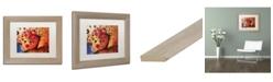 "Trademark Global Natasha Wescoat '013' Matted Framed Art - 11"" x 14"""