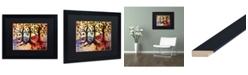 "Trademark Global Natasha Wescoat '014' Matted Framed Art - 16"" x 20"""