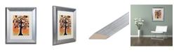 "Trademark Global Natasha Wescoat '015' Matted Framed Art - 11"" x 14"""
