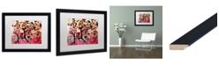 "Trademark Global Natasha Wescoat '055' Matted Framed Art - 16"" x 20"""