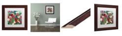 """Trademark Global Carrie Schmitt 'Meant to Be' Matted Framed Art - 11"""" x 11"""""""