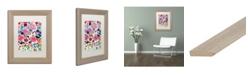 """Trademark Global Carrie Schmitt 'Never A Dull Moment' Matted Framed Art - 11"""" x 14"""""""