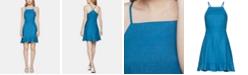 BCBGeneration Ruffle-Hem Fit & Flare Dress