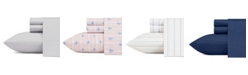 Nautica Cotton Percale Sheet Set, King