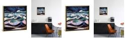 "iCanvas Moonlit Ocean by Spacefrog Designs Gallery-Wrapped Canvas Print - 37"" x 37"" x 0.75"""