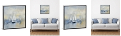 """iCanvas Morning Sail by Silvia Vassileva Gallery-Wrapped Canvas Print - 26"""" x 26"""" x 0.75"""""""