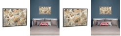 """iCanvas Ivory Floral by Silvia Vassileva Gallery-Wrapped Canvas Print - 18"""" x 26"""" x 0.75"""""""