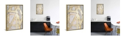 """iCanvas Ace of Spades in Gold I by Erin Ashley Gallery-Wrapped Canvas Print - 26"""" x 18"""" x 0.75"""""""