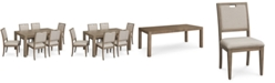 Furniture Melbourne Dining Furniture, 7-Pc. Set (Expandable Table & 6 Side Chairs)