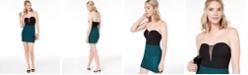 Speechless Juniors' Strapless Colorblocked Dress