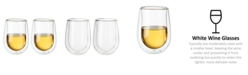 J.A. Henckels ZWILLING Sorrento Stemless White Wine Glass, Set of 2