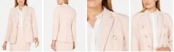 Calvin Klein Double-Breasted Blazer