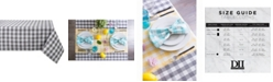 "Design Import Checkers Table Cloth 60"" x 84"""