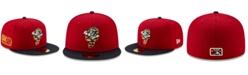 New Era Greensboro Grasshoppers Stars and Stripes 59FIFTY Cap