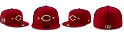 New Era Little Boys Cincinnati Reds 2019 All Star Game Patch 59FIFTY Fitted Cap