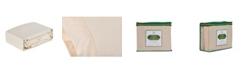 """Sleep & Beyond Mysheet, Natural Cotton Sheet Set, Twin, Up to 18"""""""