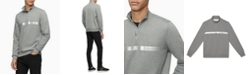 Calvin Klein Men's Quarter-Zip Sweatshirt