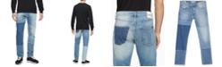 Calvin Klein Jeans Men's Patchwork Stretch-Cotton Jeans