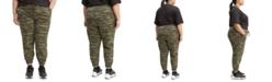 Levi's Trendy Plus Size  Jet Set Jogger Pants