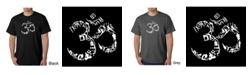 LA Pop Art Men's Word Art T-Shirt - Om Symbol