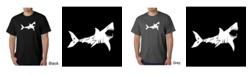 LA Pop Art Men's Word Art T-Shirt - Bite Me