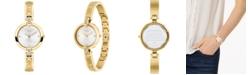 COACH Women's Chrystie Gold-Tone Stainless Steel Bangle Bracelet Watch 26mm