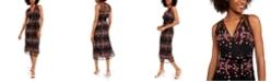 foxiedox Ziva Allover-Lace Midi Dress