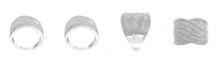 EFFY Collection EFFY Diamond (1 ct. t.w.) Ring in Sterling Silver