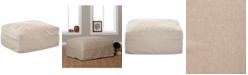 Furniture Perea Slipcover Ottoman