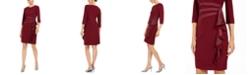 R & M Richards Ruffled Sheath Dress