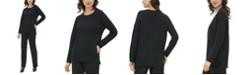 Calvin Klein Drop-Shoulder Whipstitched Sweater